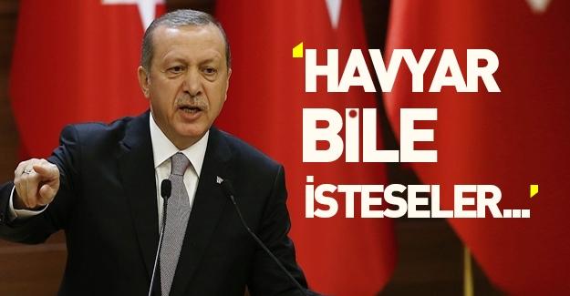 Erdoğan: Havyar bile isterseler gönderin!