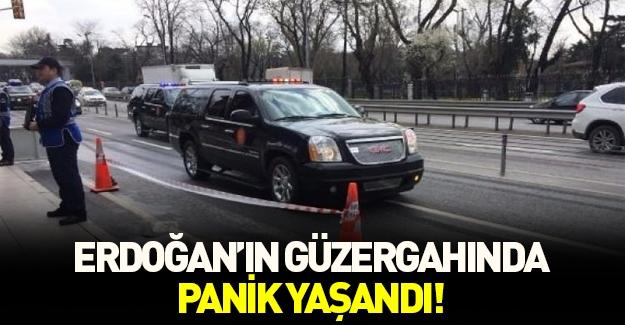 Erdoğan'ın geçeceği güzergahta büyük panik!