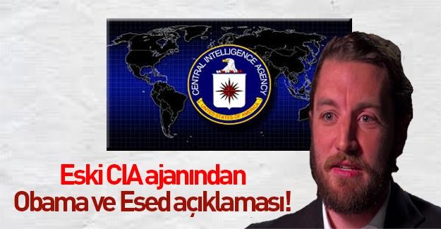 """Eski CIA ajanından Obama ile ilgili """"Esed"""" iddiası"""