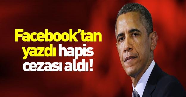 Facebook'ta Obama paylaşımının sonu kötü oldu!