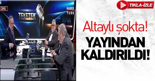 Fatih Altaylı'nın programı yayından kaldırıldı