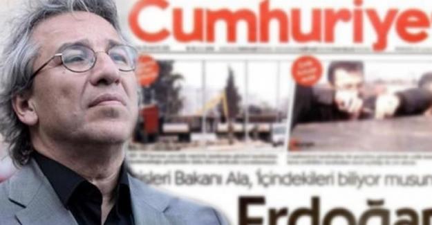 FETÖ'nün Can Dündar'ı kayda aldığı iddia edildi