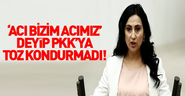 Figen Yüksekdağ'dan patlama sonrası skandal tweet