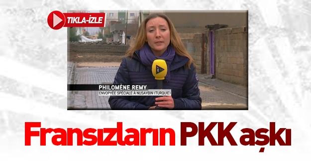 Fransız muhabirin PKK'lı terörist aşkı