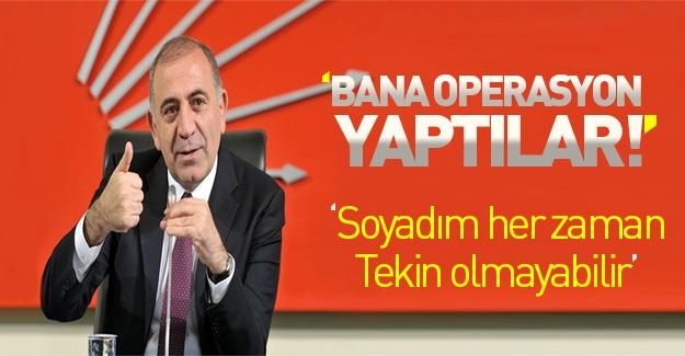 Gürsel Tekin'den CHP'de 'operasyon' iddiası!