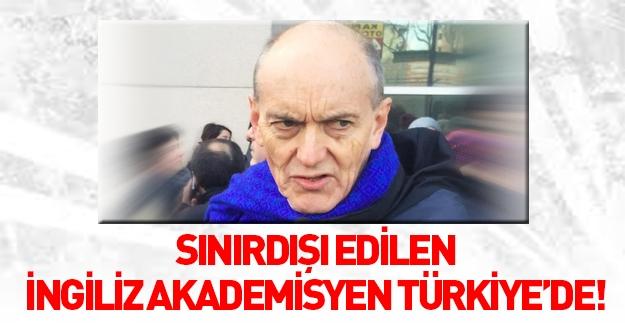 İngiliz akademisyen Christopher Stephenson, Türkiye'ye geldi