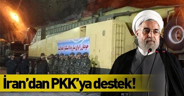 İran'dan PKK'ya destek!