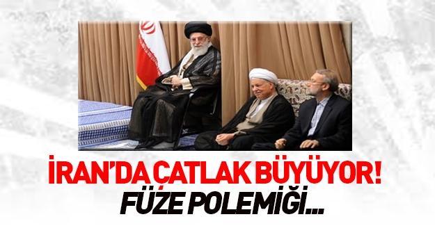 İran'ı sallayan füze polemiği!