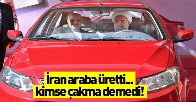 İran'ın yeni otomobili  tanıtıldı