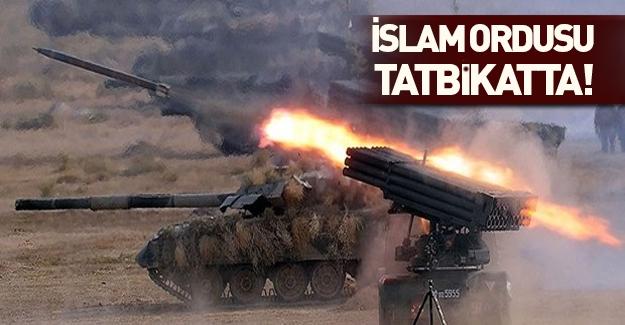 İslam Ordusu tatbikata başladı!