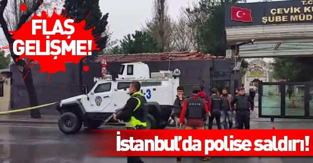 İstanbul'daki çevik kuvvet binasına ateş açıldı