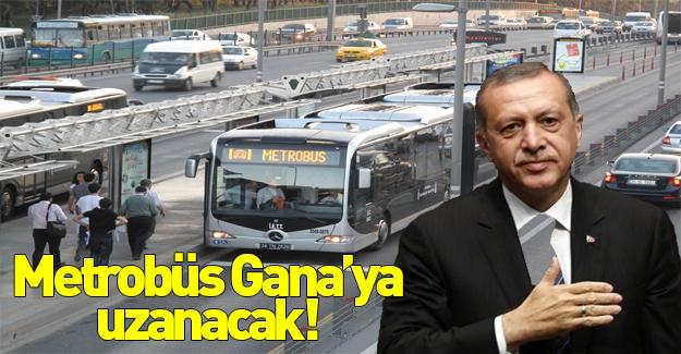 İstanbul metrobüsleri Gana'ya gidiyor!