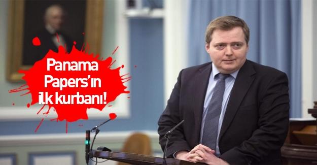 İzlanda Başbakanı istifa etti!