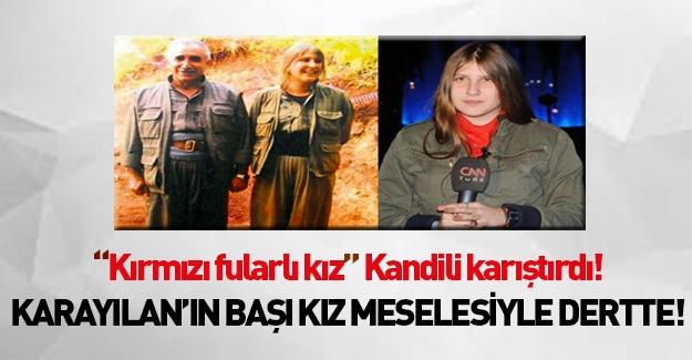 Kandil'de kadın PKK'lıların 'Kırmızı Fularlı Kız' isyanı