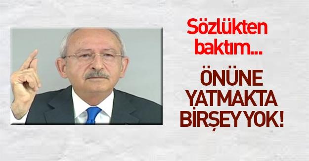 Kılıçdaroğlu basın toplantısı düzenleyip kendini savundu