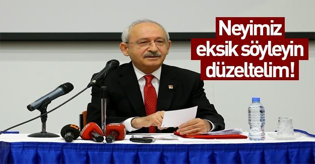 Kılıçdaroğlu Bilkent Üniversitesi'nde konuştu