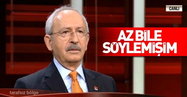 Kılıçdaroğlu'ndan pişkin çıkış!