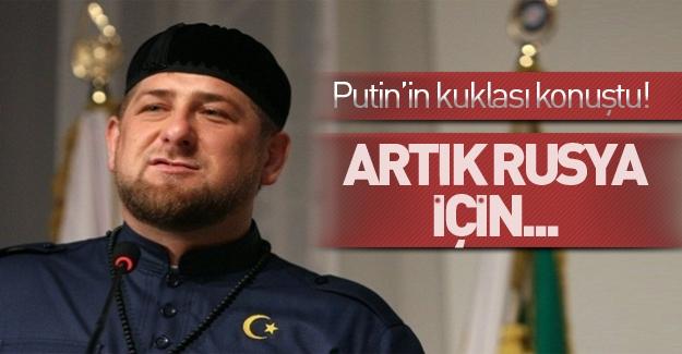 Kukla Kadirov en büyük hayalini açıkladı!