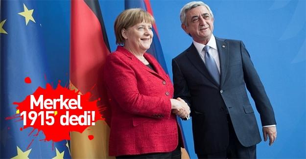 Merkel: Soykırım tasarısı Meclis'e geliyor