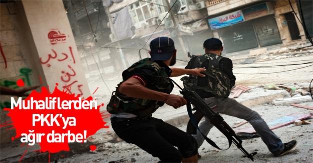 Muhalifler, Şeyh Maksut bölgesinde onlarca PKK'lı teröristi ve komutanlarını öldürdü