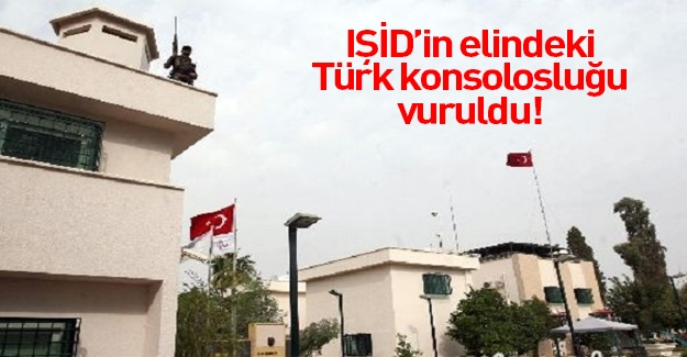 Musul Başkonsolosluğu Türkiye'nin onayıyla vuruldu