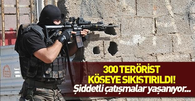 Nusaybin'de çatışmalar şiddetlendi! Tam 300 PKK'lı...