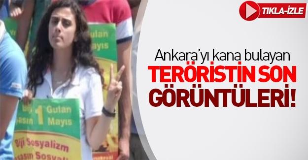 O kadın terörist böyle görüntülenmişti!