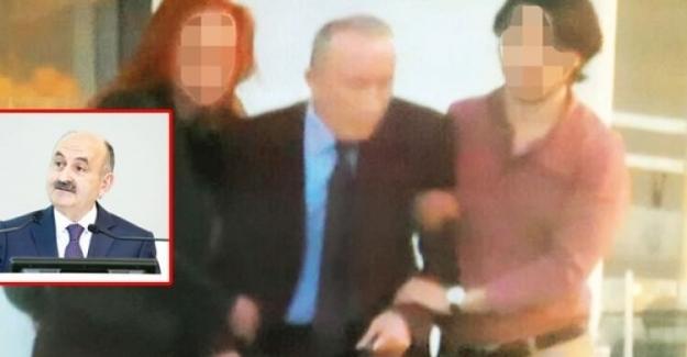 Operasyona denk gelen bakan Müezzinoğlu'ymuş