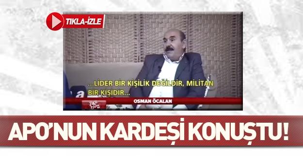 Osman Öcalan'dan şok açıklamalar!