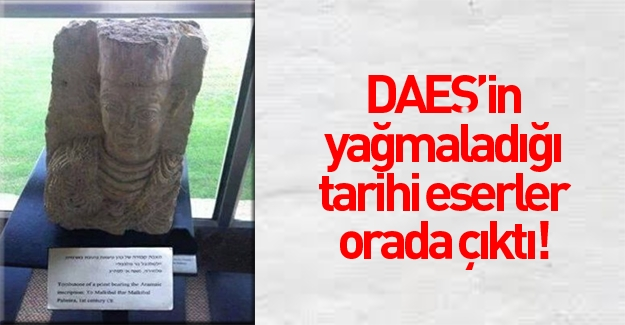 Palmyra'daki tarihi eserler orada ortaya çıktı!