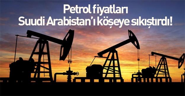 Petrol fiyatları Suudi Arabistan köşeye sıkıştırdı!