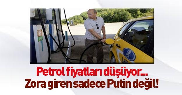 Petrol fiyatlarındaki düşüş sadece Putin'i vurmadı!