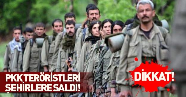 PKK'da şimdi de onları şehirlere saldı