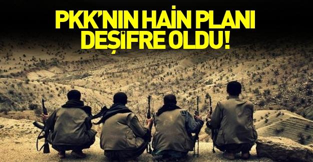 PKK hain planı deşifre oldu