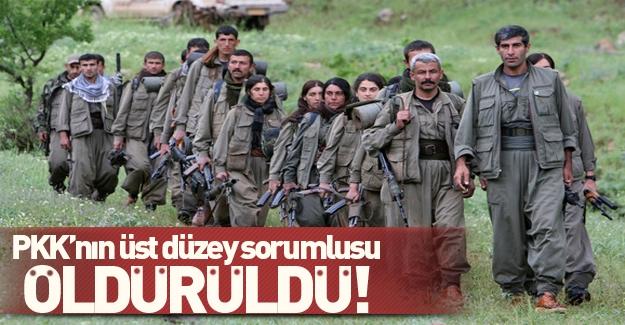 PKK'nın üst düzey sorumlusu öldürüldü!