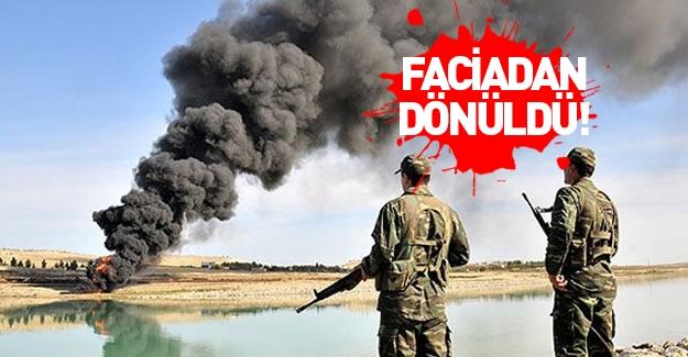 PKK sabotaj düzenledi! Faciadan dönüldü