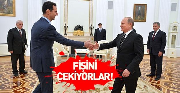 Putin Beşar Esed'den kurtulmaya hazır!