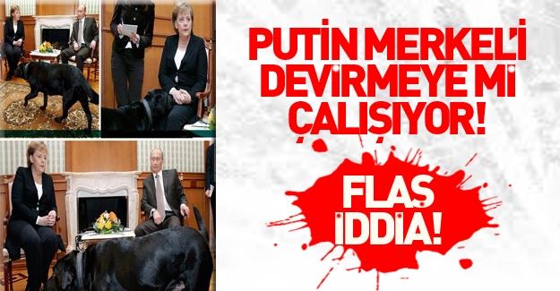 Putin, Merkel'i devirmeye mi çalışıyor?