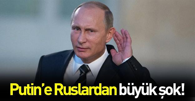 Ruslardan Putin'e şok: Sorumlusu sensin