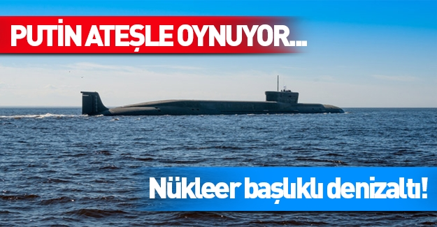 Rusya'dan denizden taciz!