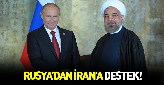 Rusya'dan İran'a destek