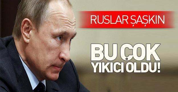 Rusya'dan tepki: Bu çok yıkıcı oldu