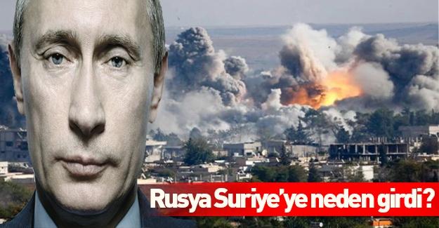 Rusya'nın Suriye'ye girmesinin perde arkası