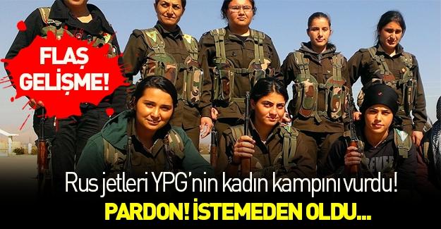 Rusya YPG kampını vurdu!