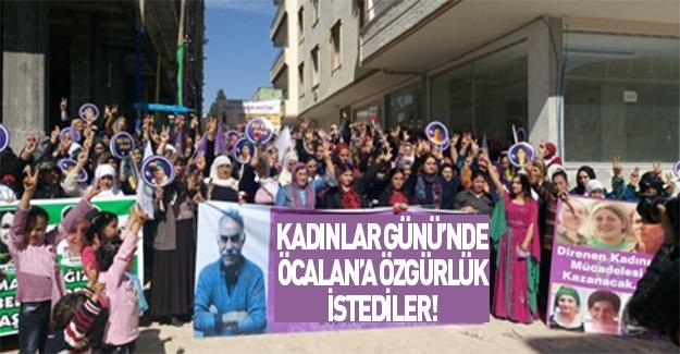 Şanlıurfa'da 'Öcalan'a özgürlük istediler