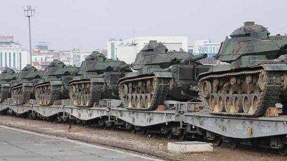 Şırnak'a tank ve zırhlı araç takviyesi!