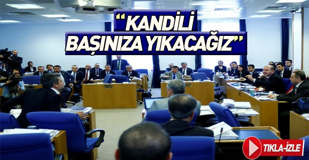 Soylu'dan HDP'li vekillere: Kandil'i başınıza yıkacağız