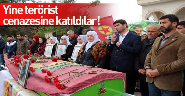 Sur'da öldürülen PKK'lının cenazesine HDP'liler katıldı