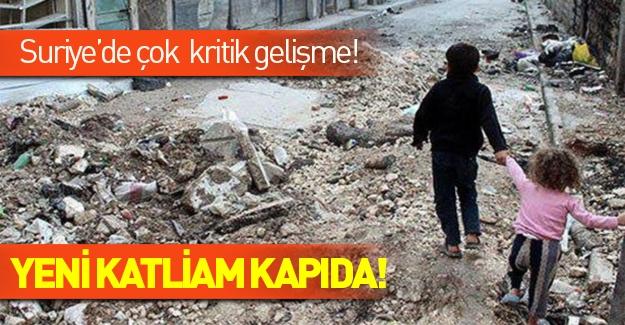 Suriye'de çok kritik gelişme! Onbinlerce insan ölebilir...