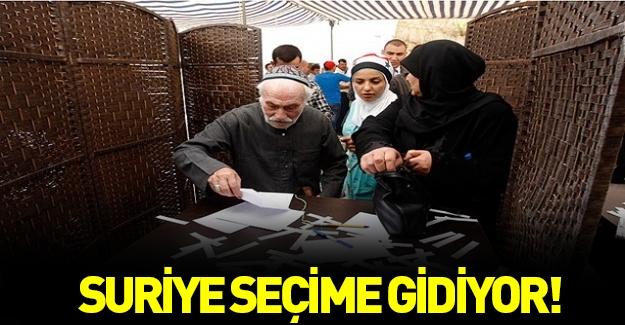 Suriye'de seçim tarihi açıklandı